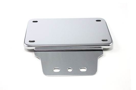 Tail Lamp License Plate Holder Chrome
