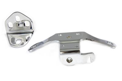 Chrome Top Motor Mount Bracket Set