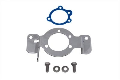 Chrome Carburetor Support Bracket