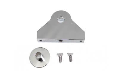 Side Mount Bracket for Tail Lamp Chrome Billet
