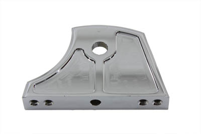 Chrome Side Mount Tail Lamp Bracket