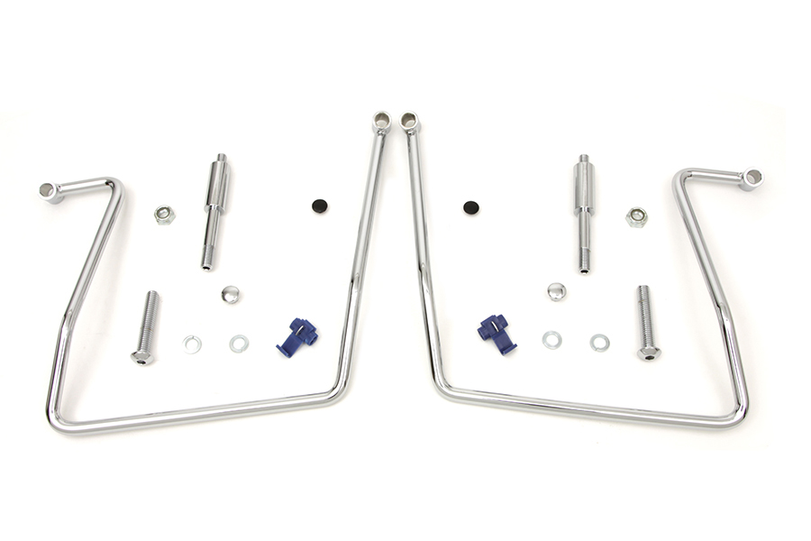 Chrome Saddlebag Support Kit