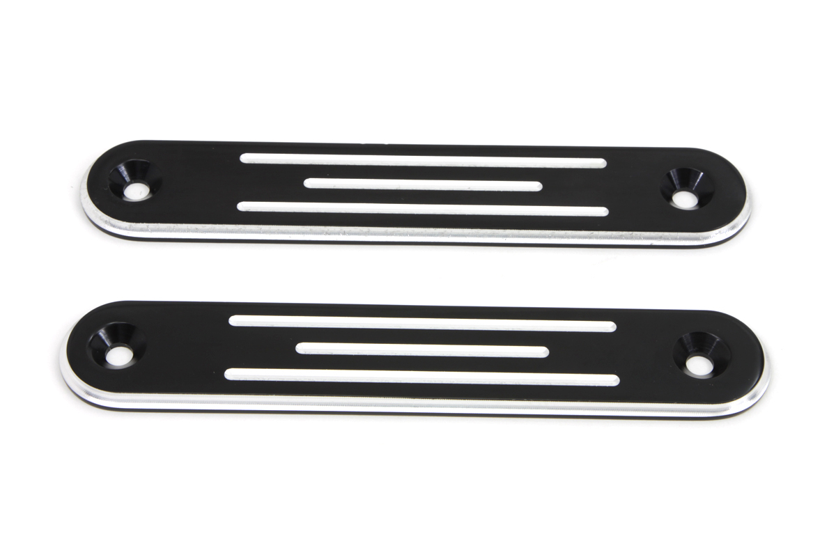 Black Spotlamp Eliminator Bracket Set