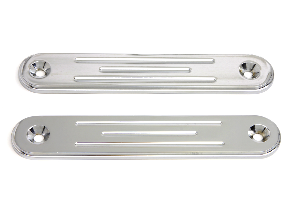 Chrome Spotlamp Eliminator Bracket Set