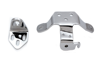 Chrome Top Engine Mount Set