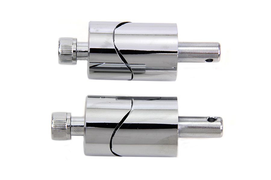 Chrome Solo Seat Spring Stanchions