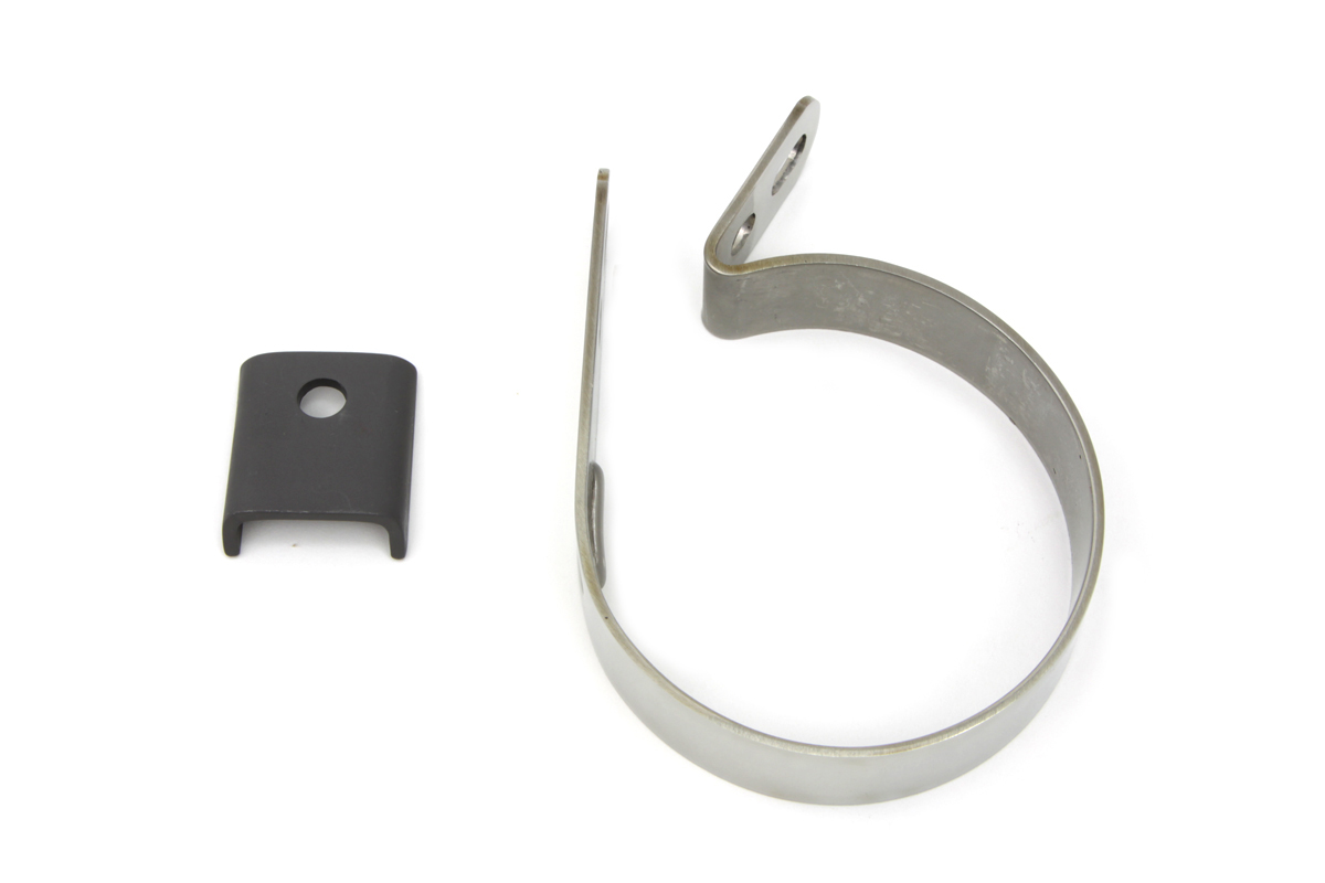 "Stainless Steel 3-1/4"" Muffler Clamp"
