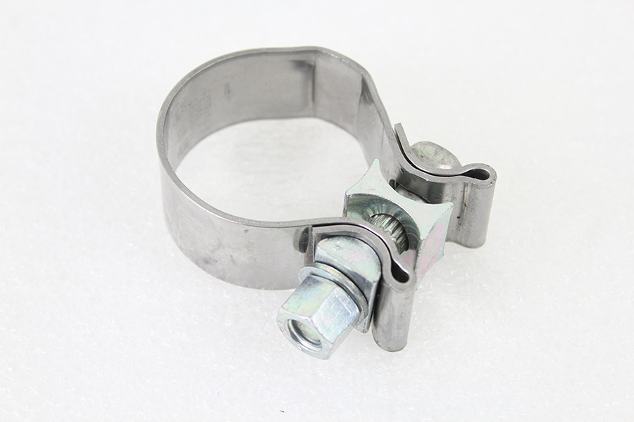 FLT Exhaust Clamp Zinc Plated