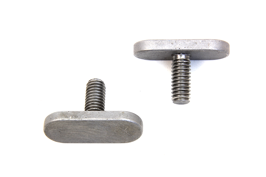 VTwin Motorcycle Exhaust Muffler Pipe T-Bolt Set for Harley Davidson
