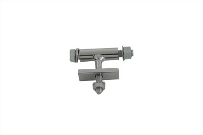 Chrome Solo Seat Front T Bracket