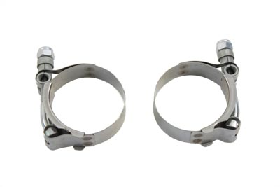 Exhaust Clamp Set Stainless Steel