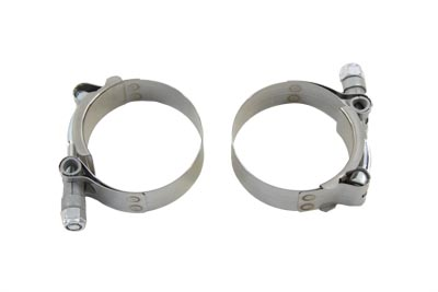 Stainless Steel Hex Nut Type Exhaust Clamp Set