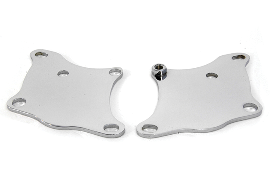 Chrome Front Lower Motor Mounts