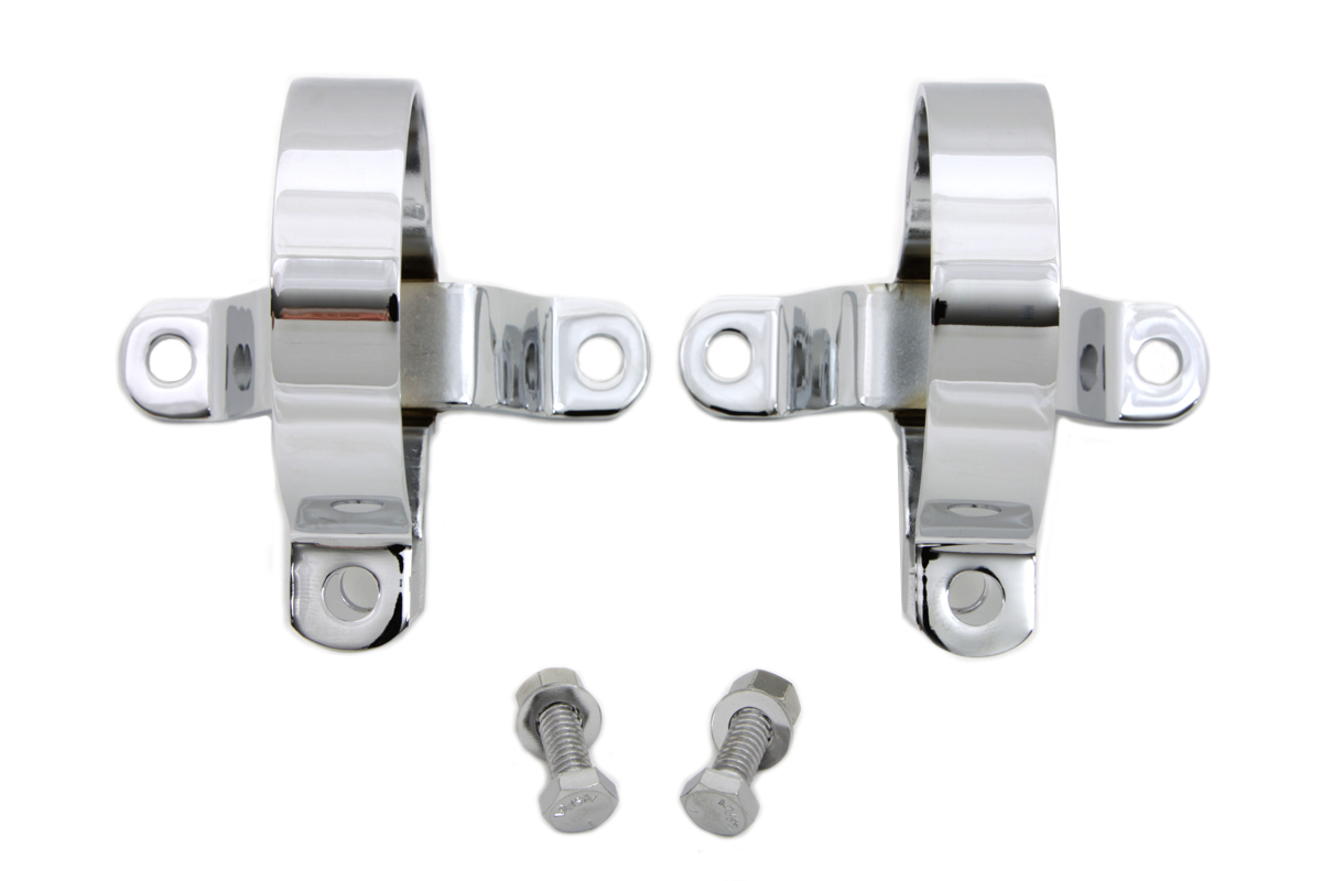 "3"" Muffler Body Clamp Set Chrome"