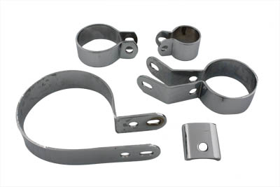 *UPDATE Chrome Exhaust Clamp Kit