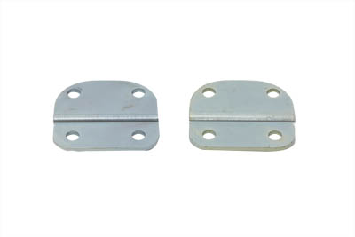 Windshield Extension Brackets Zinc