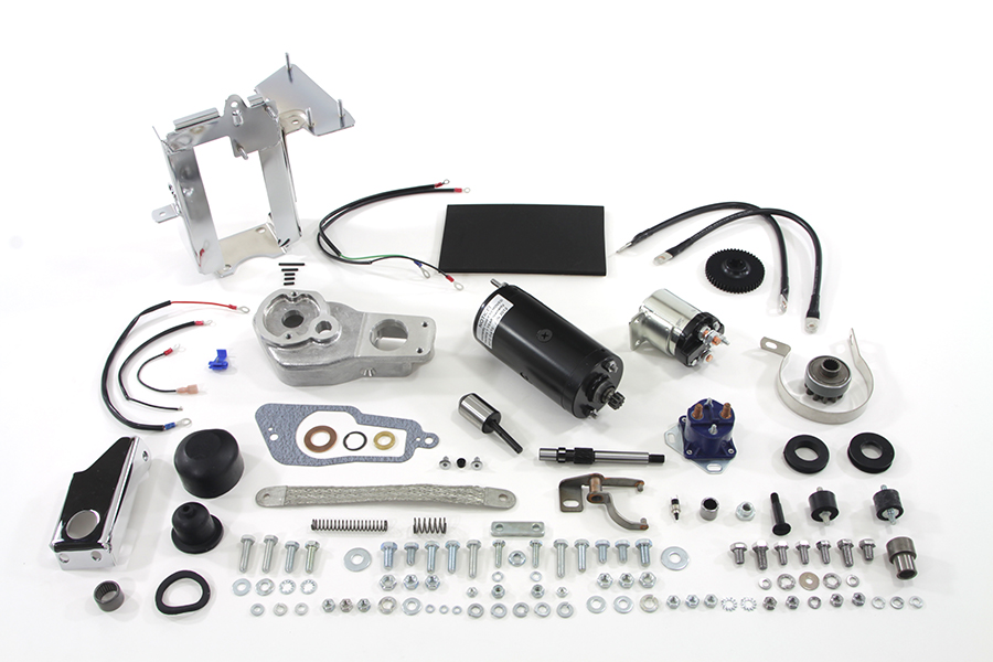 Prestolite Black Electric Starter Kit