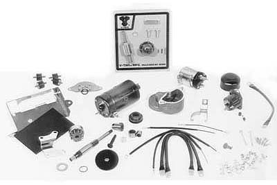 Prestolite Chrome Electric Starter Kit