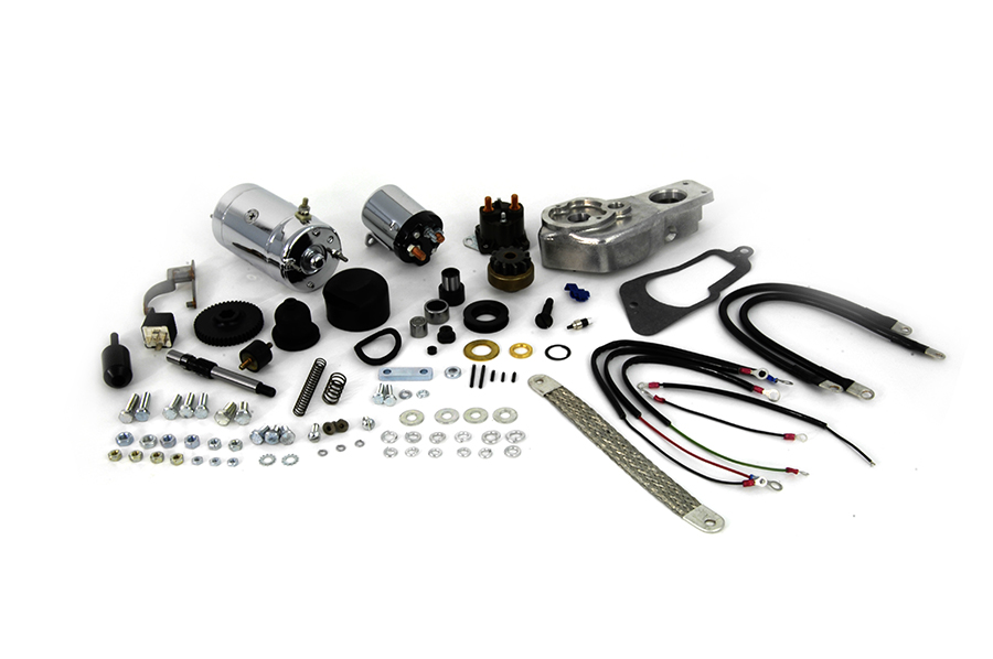 Hitachi Chrome Electric Starter Kit