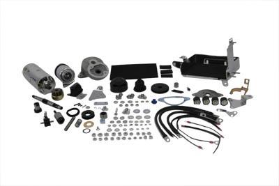Prestolite Chrome Electric Starter Kit