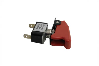 Toggle Switch 20 Amp with Red Cap