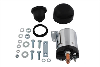 Chrome Starter Solenoid Kit