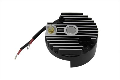 Black 12 Volt Regulator End Cover