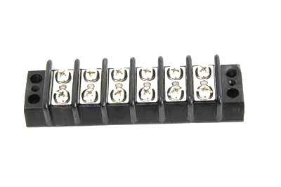 Wiring Terminal Block with 12 Posts