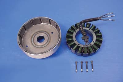 Alternator Stator and Rotor Set