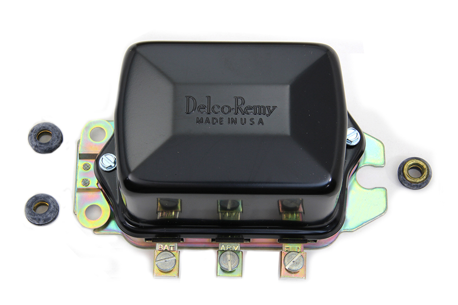 Delco Remy Black 12 Volt Mechanical Regulator