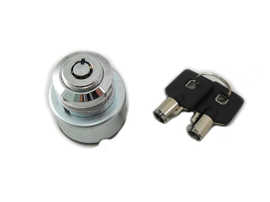 Chrome Ignition Key Switch