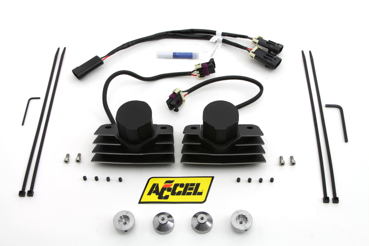 Accel Black Stealth Super Coil Set