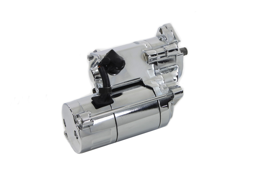 Volt Tech Starter Motor 1.8kW Chrome