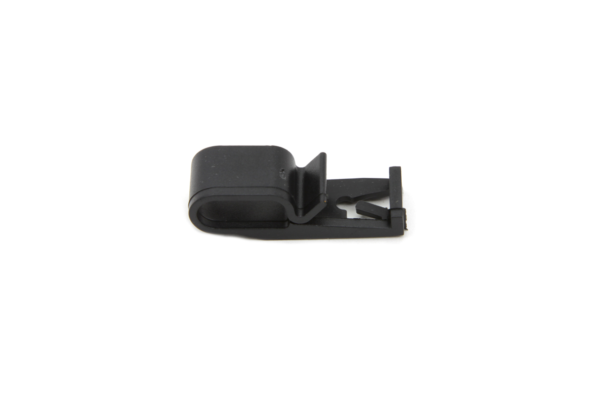Black Wire Retainer Clip