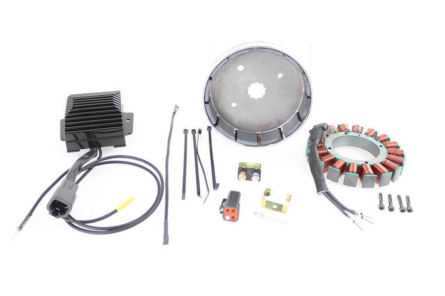 FXST, FLST 45 Amp Three Phase Alternator Kit