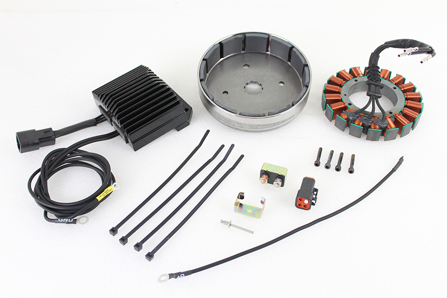 FXD 45 Amp Three Phase Alternator Kit