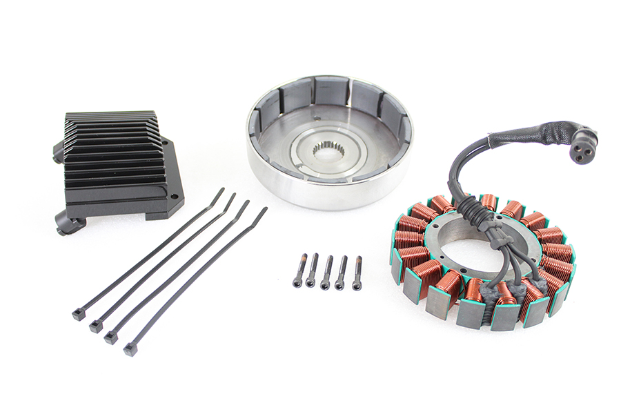 FXD 50 Amp Three Phase Alternator Kit