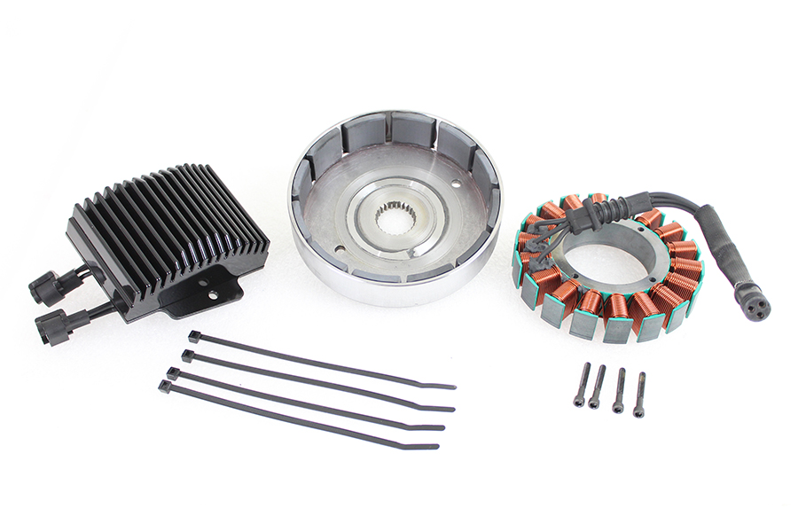 FXST, FLST 50 Amp Three Phase Alternator Kit