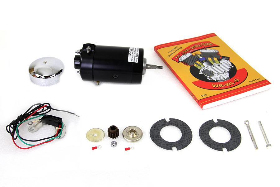 45 W/G Side Valve 12 Volt Generator Kit Black