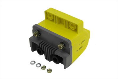 Yellow Super Coil for Points Ignition