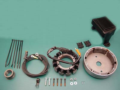 Alternator Charging System Kit 38 Amp
