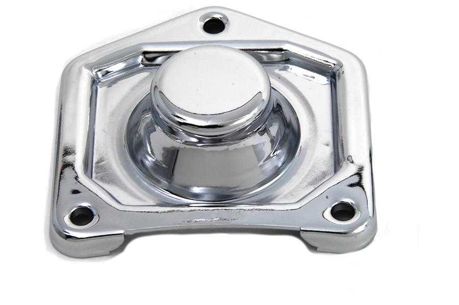 Chrome Starter Solenoid Plate