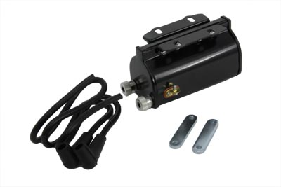 Black 6 Volt Ignition Coil