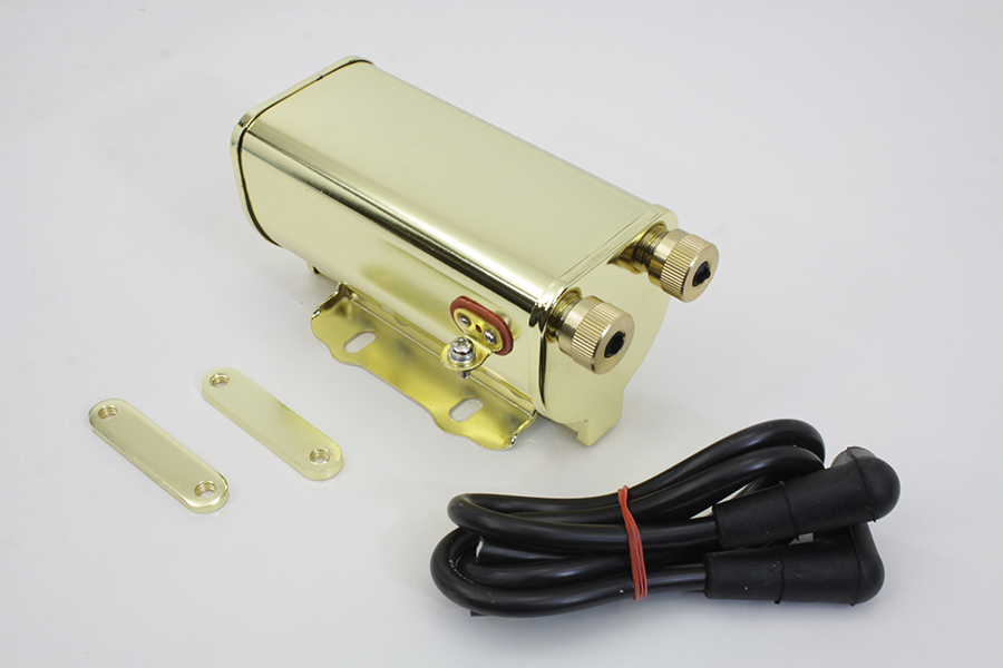 Brass Plated 6 Volt Ignition Coil