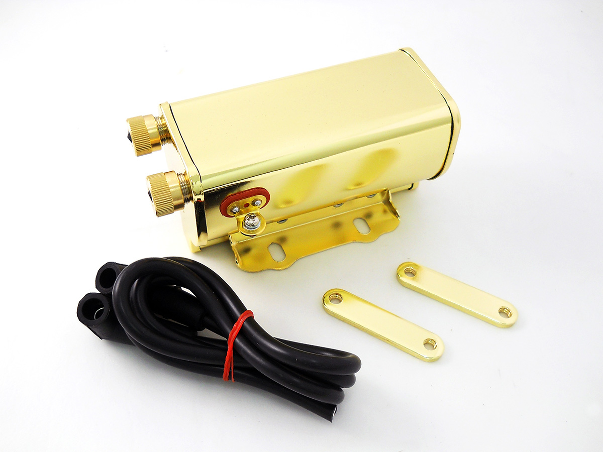 Brass Plated 12 Volt Ignition Coil
