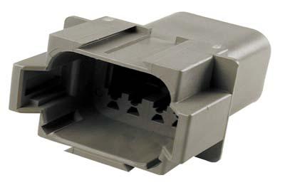 Deutsch Sealed 8 Wire Connector Component