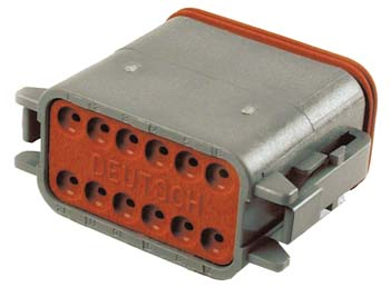 Deutsch Sealed 12 Wire Connector Component