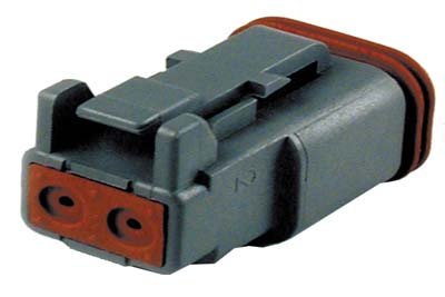 Deutsch Sealed 2 Wire Connector Component