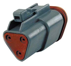 Deutsch Sealed 3 Wire Connector Component