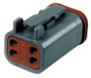 Deutsch Sealed 4 Wire Connector Component